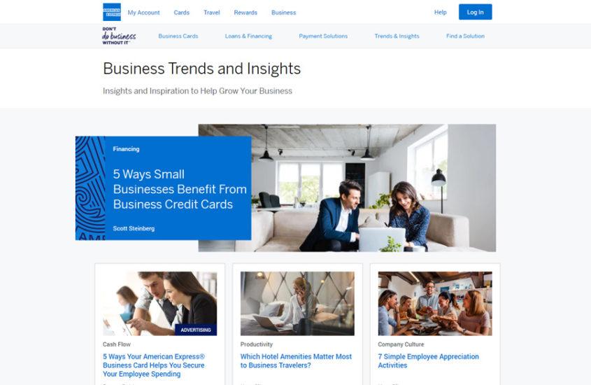 American Express аккумулирует бизнес идеи